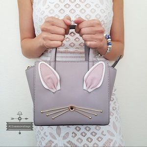 Kate spade NY hop to it Mini Hayden Rabbit Bag NWT